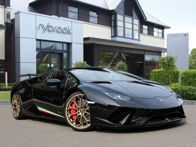 2019 Lamborghini Huracan 5.2 Performante Spyder (WE reg)