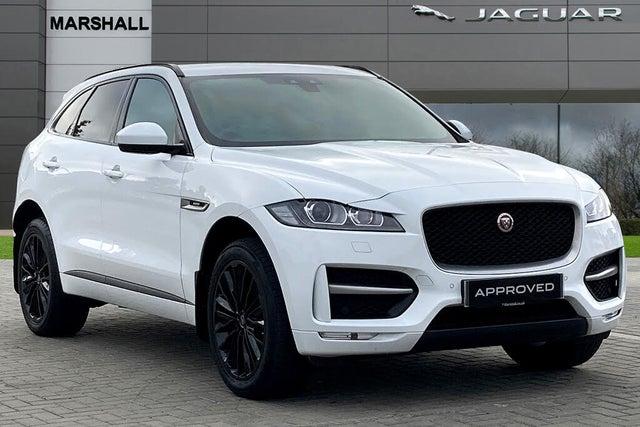 2018 Jaguar F-PACE 2.0 i4D R-Sport (180ps) (AWD) Auto (18 reg)