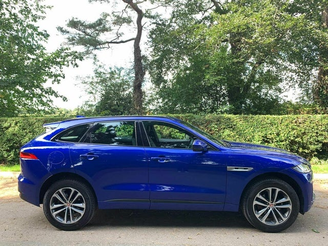 2017 Jaguar F-PACE 2.0 i4D R-Sport (180ps) (AWD) (s/s) Auto (17 reg)
