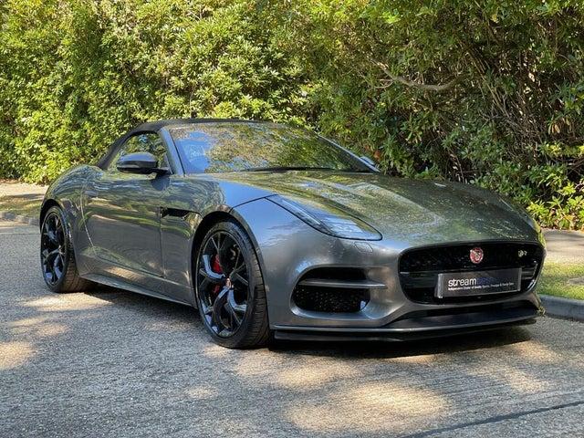 2018 Jaguar F-TYPE 5.0 V8 S/C R 4X4 (s/s) Convertible (0G reg)