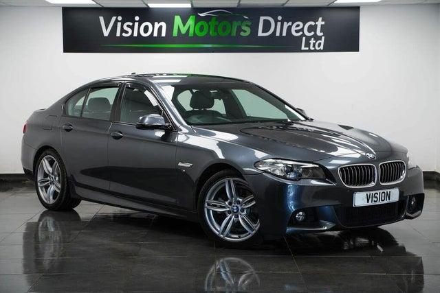 2016 BMW 5 Series 2.0TD 520d M Sport Saloon 4d Auto (66 reg)