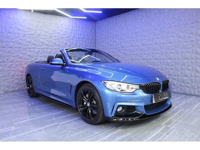 2016 BMW 4 Series 3.0TD 435d xDrive M Sport Convertible 2d (16 reg)
