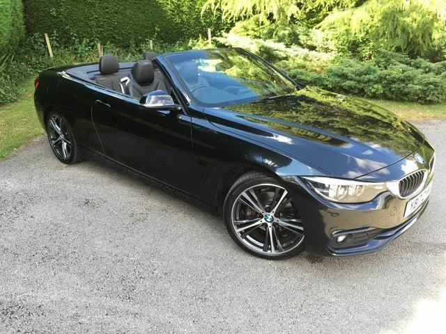 2017 BMW 4 Series 2.0TD 420d Sport Convertible 2d Auto (17 reg)