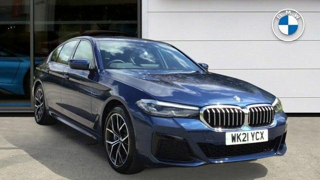 2021 BMW 5 Series 2.0 530e M Sport (292bhp) Saloon 4d Auto (21 reg)
