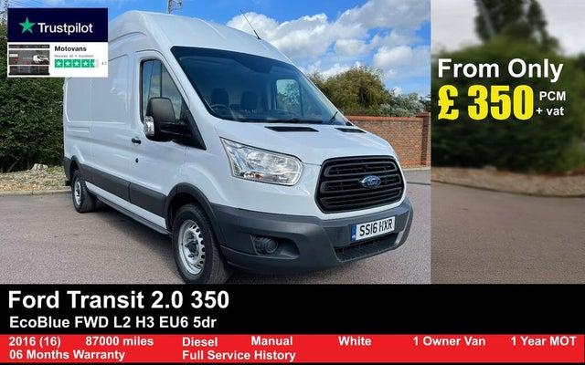 2016 Ford Transit 2.2TDCi 350 L3H3 (100PS) Panel Van (16 reg)