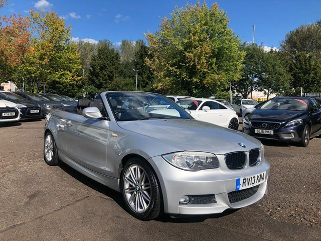 2013 BMW 1 Series 2.0TD 118d M Sport Convertible 2d (13 reg)