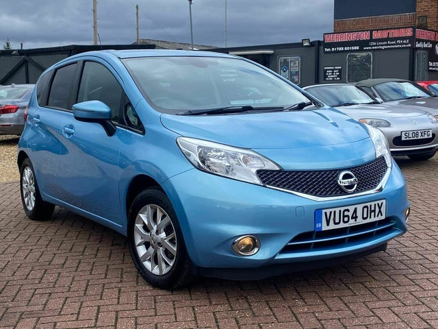 2014 Nissan Note 1.2 Acenta Premium (80ps) (Style Pack) (64 reg)