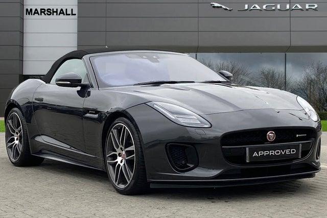 2018 Jaguar F-TYPE (68 reg)