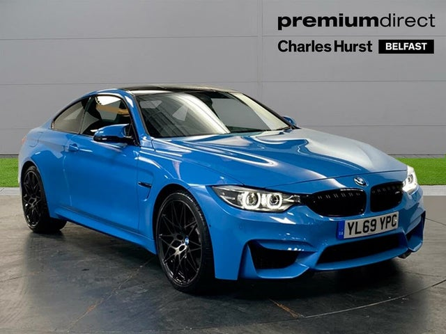 2020 BMW 4 Series 3.0 M4 Competition Coupe (69 reg)