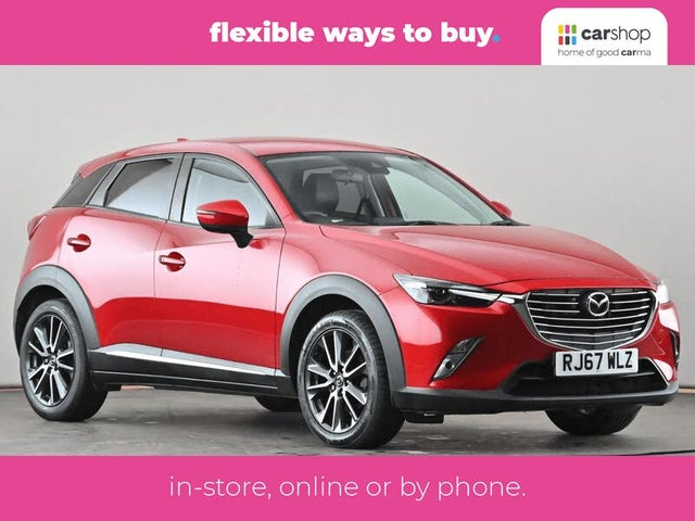 2018 Mazda CX-3 2.0 Sport Nav (120ps) (2WD)(s/s) Auto (67 reg)
