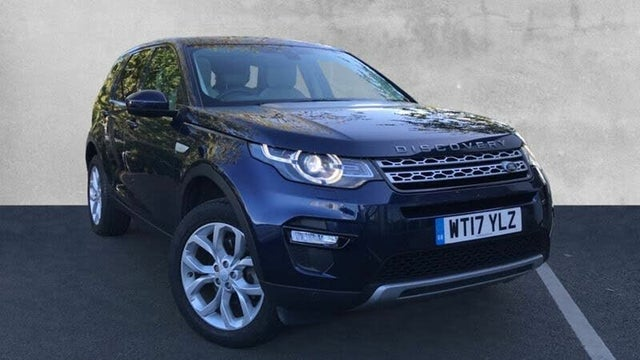2017 Land Rover Discovery Sport 2.0Td4 HSE (182ps) SUV Auto (17 reg)