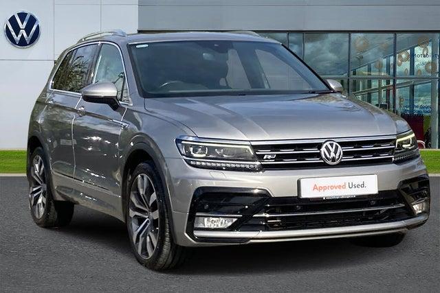 2017 Volkswagen Tiguan 2.0TDI R Line (190ps) (17 reg)