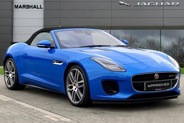 2018 Jaguar F-TYPE 2.0 i4 R-Dynamic Convertible (18 reg)