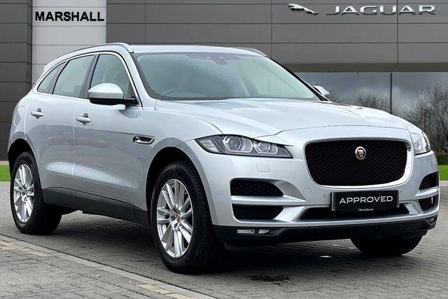 2019 Jaguar F-PACE 2.0 i4D Portfolio (180ps) (s/s) Auto (19 reg)