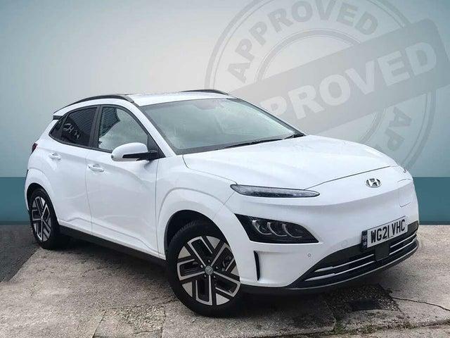 2021 Hyundai Kona E Premium (204ps) 64kWh 7kW OBC (21 reg)