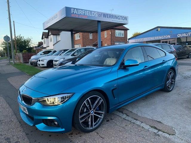 2017 BMW 4 Series 3.0TD 430d M Sport (s/s) Gran Coupe 5d (67 reg)