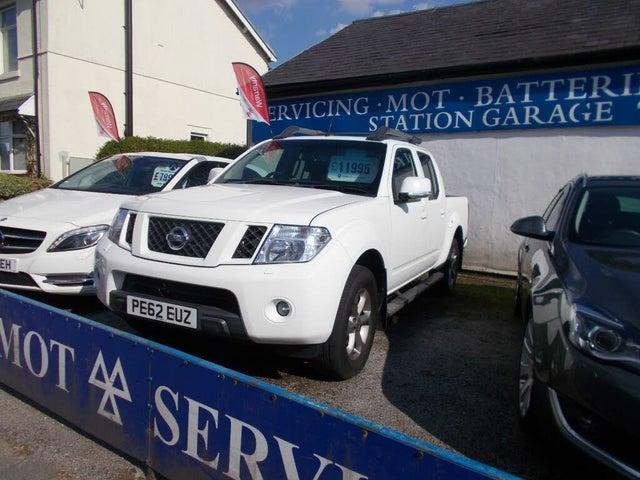 2012 Nissan Navara 2.5TD Platinum (62 reg)