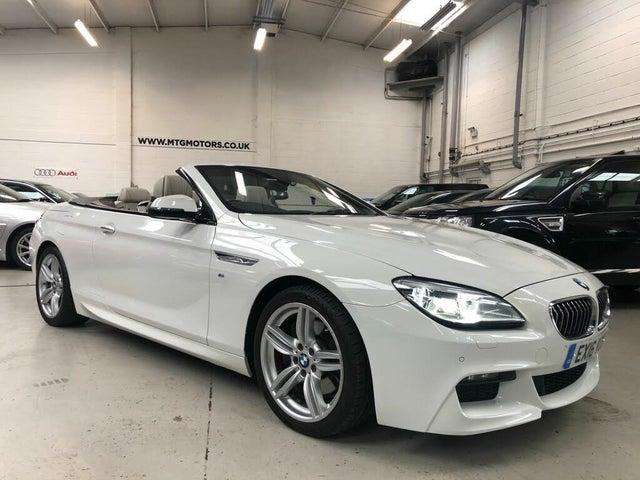 2016 BMW 6 Series 3.0TD 640d M Sport Convertible 2d (16 reg)