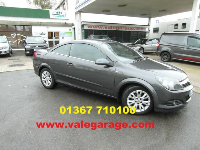 2009 Vauxhall Astra 1.6 Twin Top Sport 16v VVT (115ps) Coupe (00 reg)