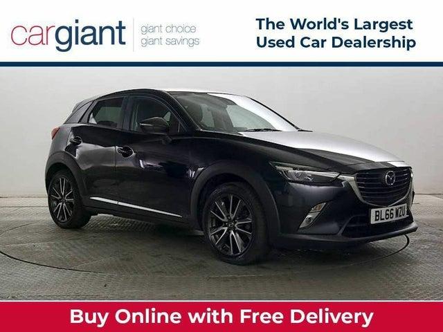 2017 Mazda CX-3 2.0 Sport Nav (150ps) (AWD)(s/s) (66 reg)