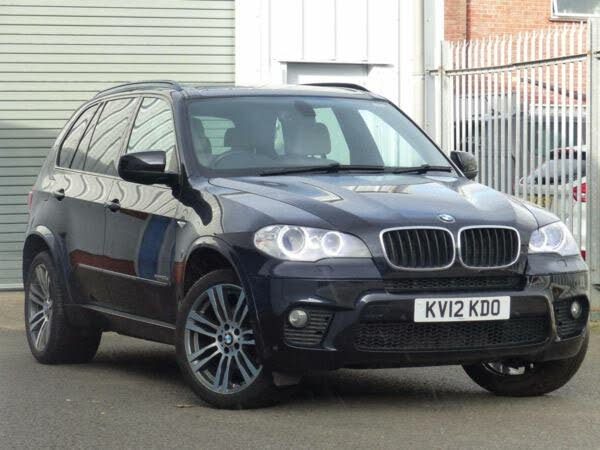 2012 BMW X5 3.0TD xDrive30d M Sport (245bhp) (s/s) Auto (12 reg)