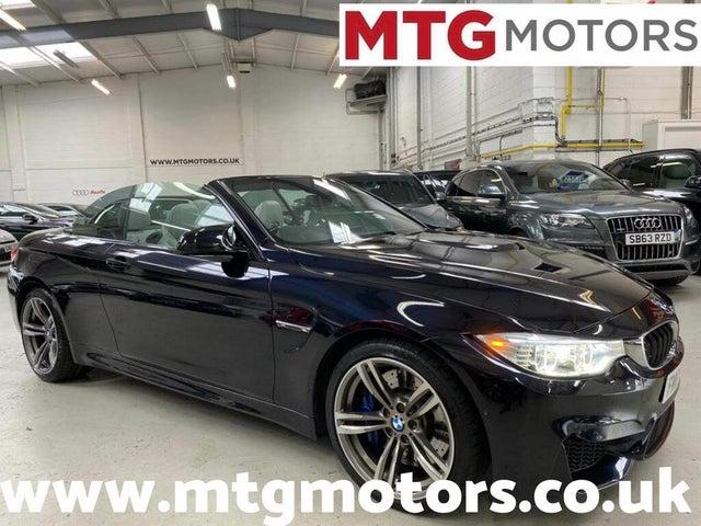 2015 BMW 4 Series 3.0 M4 (431bhp) Convertible M DCT (65 reg)