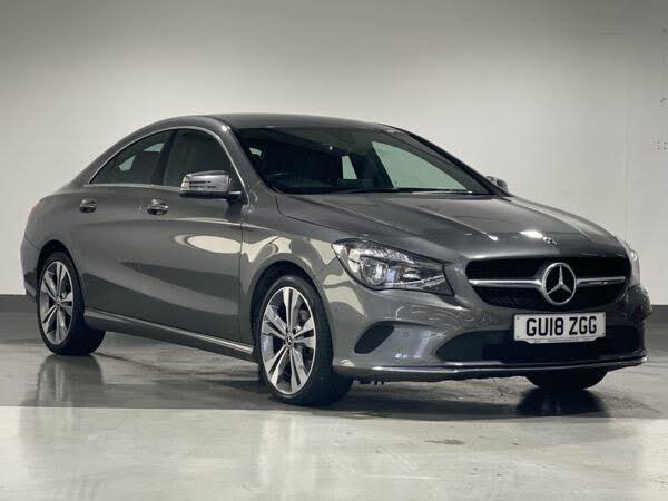 2018 Mercedes-Benz CLA 2.1d CLA 220 Sport 4MATIC Coupe 4d (18 reg)