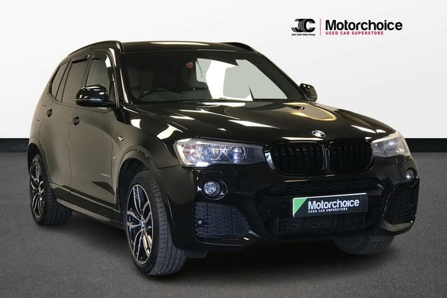 2016 BMW X3 2.0TD xDrive20d M Sport Auto (16 reg)
