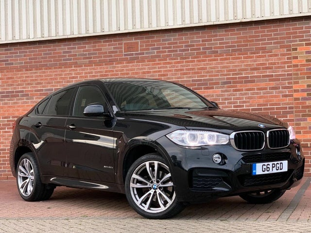 2017 BMW X6 3.0TD xDrive30d M Sport (PG reg)