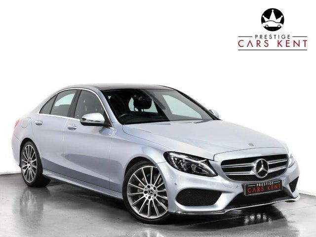 2018 Mercedes-Benz C-Class 1.6d C200d AMG Line (136ps) (Premium)(s/s) Saloon 4d 7G-Tronic Plus (18 reg)