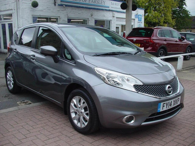 2014 Nissan Note 1.2 Acenta Premium (80ps) (Safety Style Pack) (14 reg)