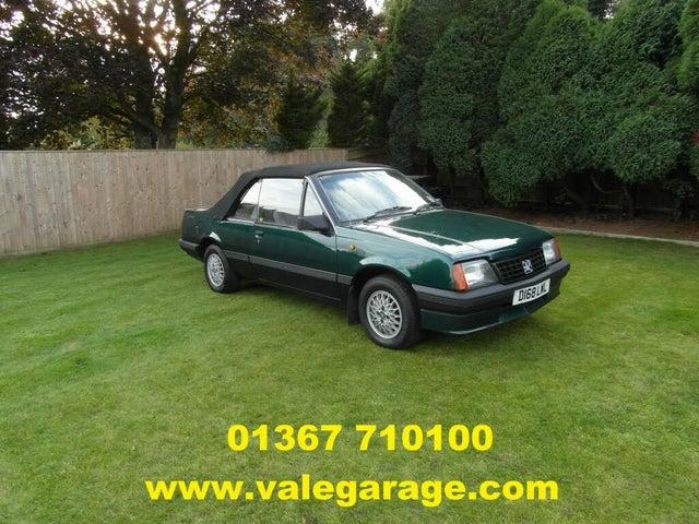 1986 Vauxhall Cavalier 1.8