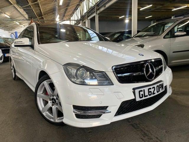 2013 Mercedes-Benz C-Class 2.1TD C220 CDI AMG Sport Plus (168bhp) CDI Coupe 2d 7G-Tronic (62 reg)