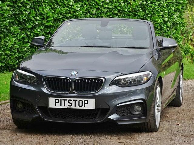 2015 BMW 2 Series 2.0TD 220d M Sport Convertible 2d Auto (15 reg)