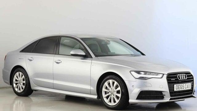 2015 Audi A6 Saloon 3.0TDI quattro Black Edition (272ps) (65 reg)