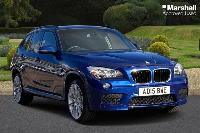 2015 BMW X1 2.0TD xDrive20d M Sport Auto (15 reg)