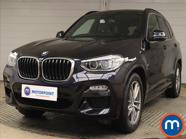 2018 BMW X3 (68 reg)