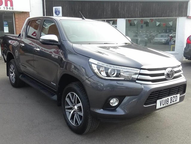 2018 Toyota Hi-Lux 2.4D Invincible (s/s) auto (18 reg)