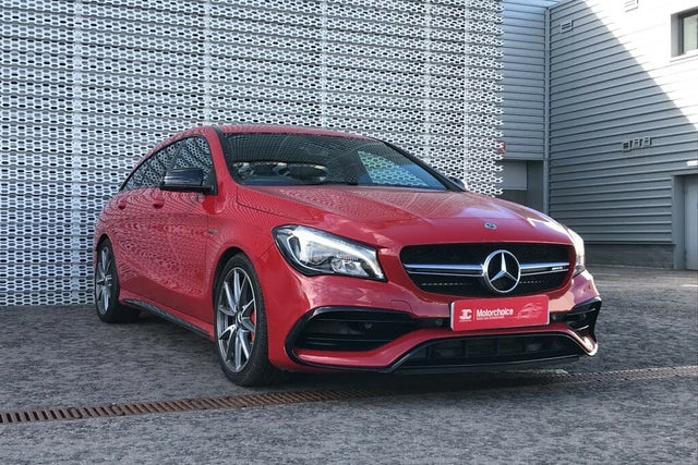 2019 Mercedes-Benz CLA 2.0 CLA AMG 45 Night Edition Shooting Brake 5d (68 reg)
