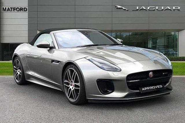 2018 Jaguar F-TYPE 3.0 V6 S/C R-Dynamic (380ps) (AWD) Convertible Auto (19 reg)