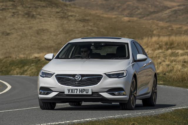 Vauxhall Insignia Grand Sport driving front