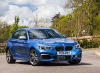 2011 BMW 1 Series, BMW 1 Series LCI front, blue M140i, gallery_worthy
