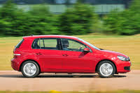 2012 Volkswagen Golf, VW Golf Mk6 side red driving, gallery_worthy