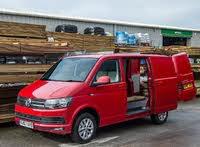 2016 Volkswagen Transporter, VW Transporter red door open, gallery_worthy