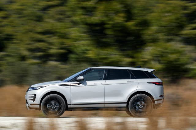 Range Rover Evoque driving side