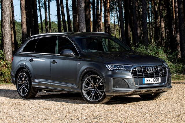 Audi Q7 mk2 front