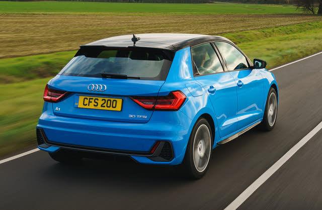 Audi A1 mk2 rear