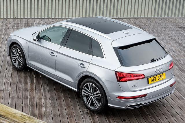 Audi Q5 mk2 rear