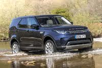 2017 Land Rover Discovery, Land Rover Discovery front driving through river, gallery_worthy