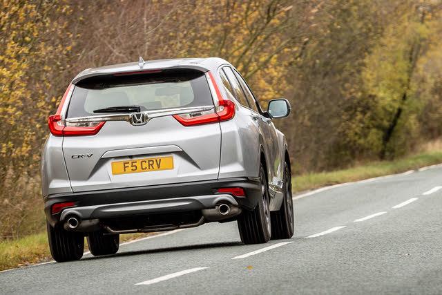 2017- Honda CR-V rear driving